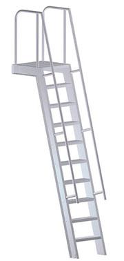 Mezzanine Access W Platform Ladder U 504 Upnovr Inc