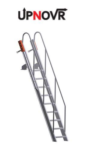 Swing Up Deck Access Ladder – U-507