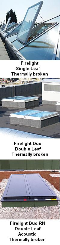 Firelight Glazed Natural Ventilator