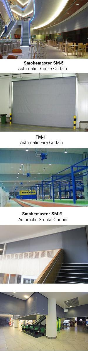 Smoke and Fire Curtains