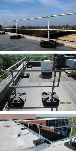 KeeGuard Contractor - Portable Roof Edge Fall Protection
