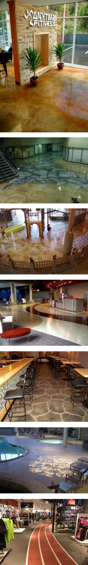 Decorative Concrete Overlayments - Interior