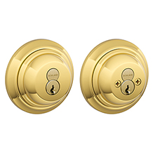 Keyed 2-Sides Deadbolt with Interchangeable Core