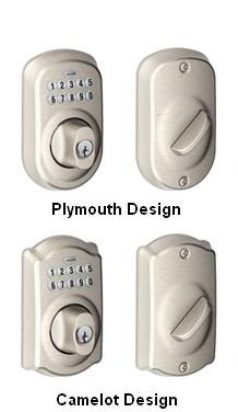 Keypad Deadbolts and Entrance Sets