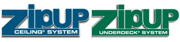 Zip-UP Ceiling® and Zip-UP UnderDeck® Systems