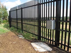 Stalwart Post and Rail® Anti-Ram Vehicle Barrier