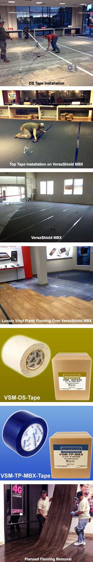 VersaShield® MBX Moisture Suppression Flooring Underlayment