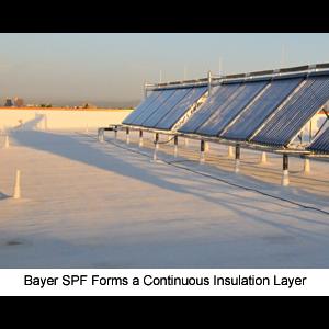 BAYTEC® SPF Silicone Roof Coatings