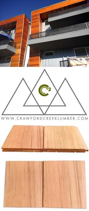 C2 Engineered Cedar Siding & Paneling