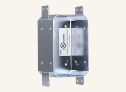 """CB-MXP43 Rough-In Box and Cover Plate for the 4.3"""" Wall Mount Modero X Series Touch Panels"""