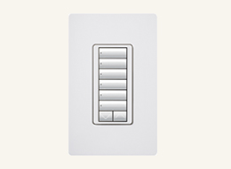CCD-W6BRL Clear Connect Wall Keypad - 6-Button with Raise/Lower (Available in US & Canada Only)