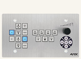 CP-3017-TR-US 17-Button ControlPad with Navigation and Transport Controls (US)