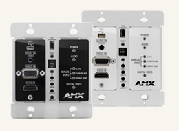 DX-TX-DWP DXLink Multi-Format Decor Style Wallplate Transmitters (US)