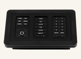 MET-TTS Tabletop Stand for up to 3 Metreau keypads