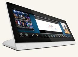 "MXT-1901-PAN 19.4"" Modero X Series G5 Panoramic Tabletop Touch Panel"