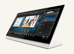 "MXT-2000XL-PAN 20.3"" Modero X Series G4 Panoramic Tabletop Touch Panel"