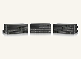 NMX-ENET-500-24 Cisco 500 Series 24-port Gigabit Ethernet Managed Switch with Stacking capability and 10-Gbps uplink option