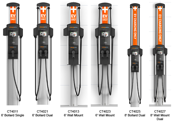 chargepoint commercial level 2 charging stations chargepoint inc sweets. Black Bedroom Furniture Sets. Home Design Ideas