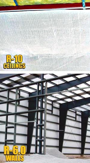 rFOIL™ 2600 Series Reflective Insulation for Metal Buildings