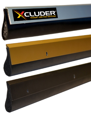 XCLUDER Pest Control Door Sweeps