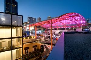 Tension Membrane Structures - ETFE Fabric