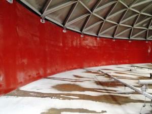 UME Composite System - Concrete Tank Lining System