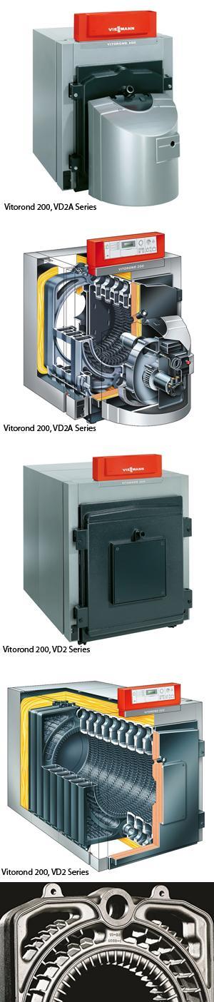 Vitorond 200 Oil-/Gas-Fired Boiler