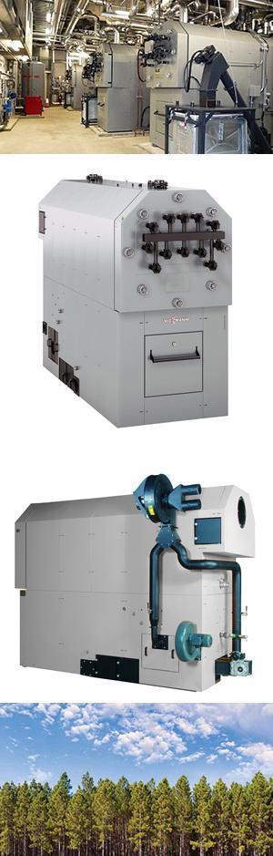 Vitoflex 300-UF Biomass Boilers