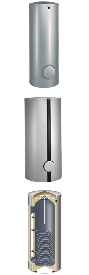 Vitocell 100-V Single Coil Domestic Hot Water (DHW) Tank