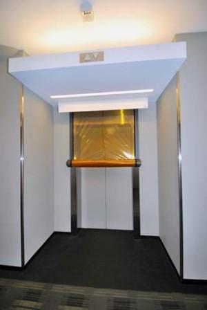 Model 400 Elevator Smoke Curtain