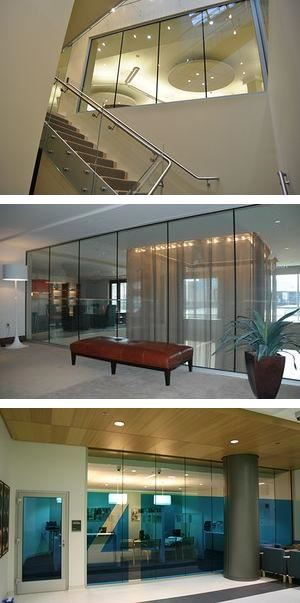 CONTRAFLAM® Structure - Fire Rated Butt Jointed Glazing System