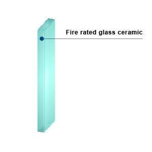 KERALITE FILMED 20 - Fire-Rated Glass Ceramic