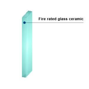 KERALITE FILMED 60 - Fire-Rated Glass Ceramic
