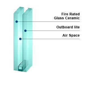 KERALITE FILMED 90 IGU - Fire Rated Insulating Glass Unit
