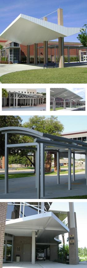 Custom Aluminum Fabrications and Unique Design Structures