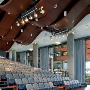 Quadrillo Acoustical Wood Ceiling and Wall Panels