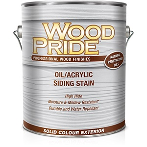 WoodPride Oil/Acrylic Siding Stain