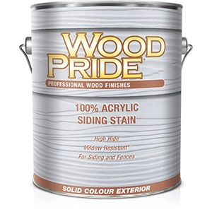 WoodPride Acrylic Solid Hide Stain