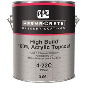 Perma-Crete 100 % Acrylic High Build Topcoats