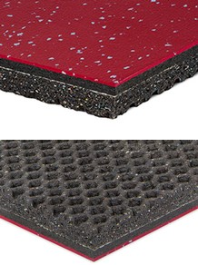 MondoArmor - Weight Resistant Vulcanized Rubber Flooring