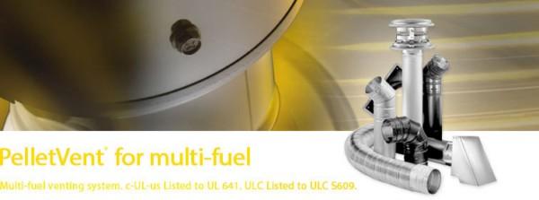 PelletVent® for Multi-Fuel System