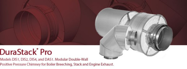 DuraStack® Pro Modular Double Wall Venting System