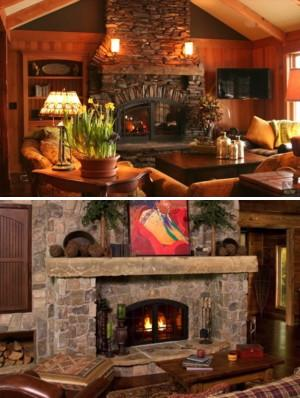 Custom wood burning fireplaces acucraft fireplace for Wood burning fireplace construction