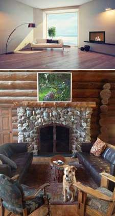 Unity Clean Face Wood-Burning Fireplace