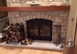 The Hearthroom 36 Zero Clearance Wood-Burning Fireplace