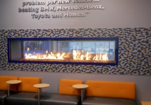 See-Through Gas Fireplaces