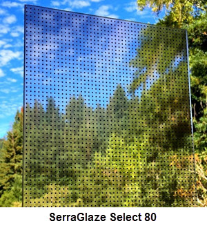 SerraGlaze Select 50/60/70 Daylight Redirecting Film