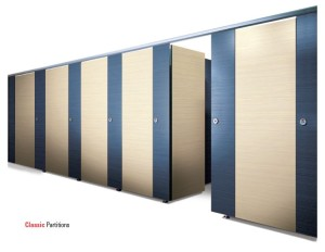 The asi alpaco collection toilet partitions for European bathroom stalls