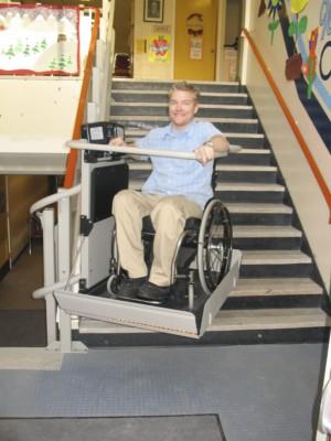 Artira Inclined Platform Wheelchair Lift