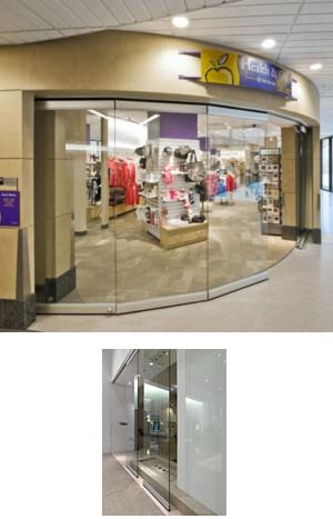 Frameless Glasswall Partitions - Model GL